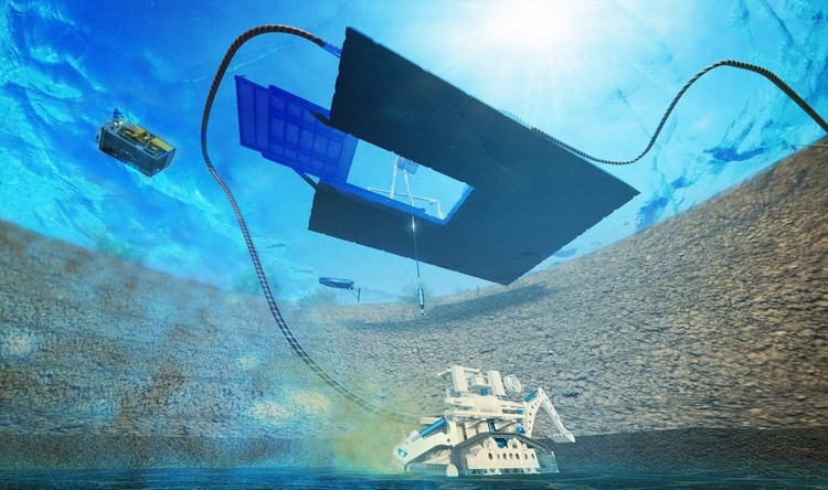 ¡VAMOS! develops novel technology for the extraction of mineral deposits from flooded open pit mines