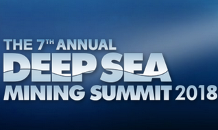 The Deep Sea Mining Summit 2018 will bring together a large array of solution providers, upcoming deep sea miners, members from the scientific community